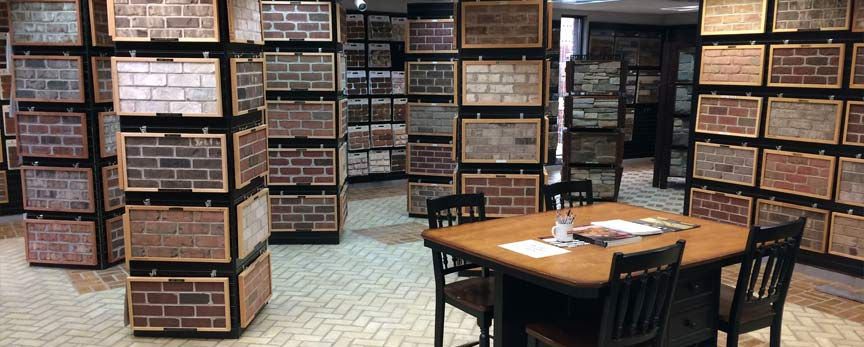 Brick Veneer Collection: Harmar - Brick & Stone Veneer Showroom