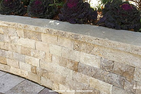 Marmiro Stones® Wall Caps- Terra Travertine