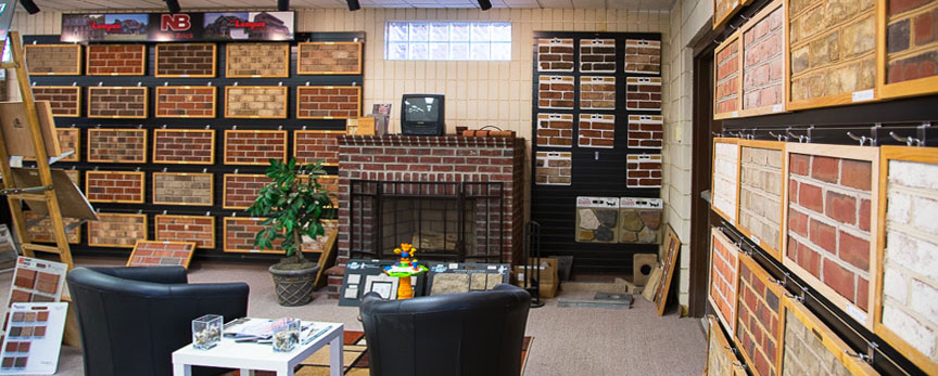 Brick Veneer Collection: Aliquippa - Brick & Stone Veneer Showroom