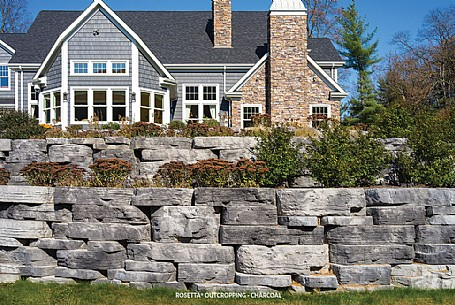 Rosetta® Outcropping - Charcoal