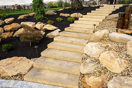 Rosetta® Dimensional Steps - Mountain Rustic