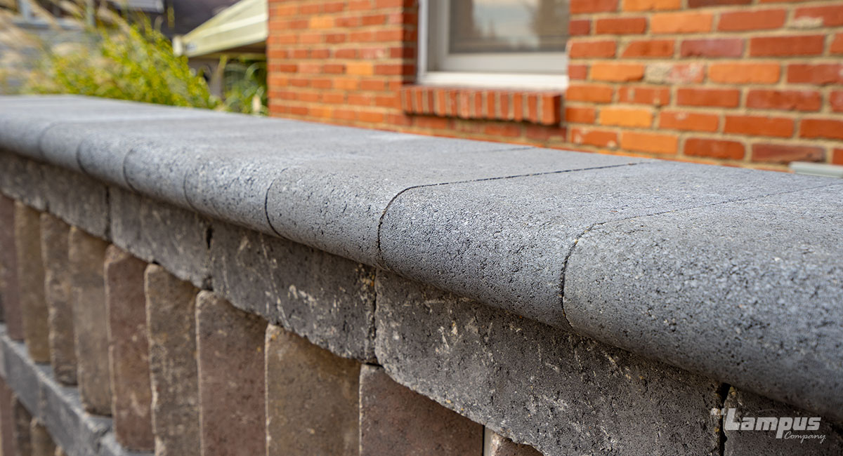 Double Bullnose Cap - Anthracite